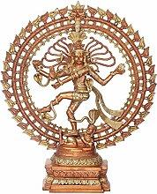 Exotic India Nataraja, Kupfer/Gold, 24x 5,5x