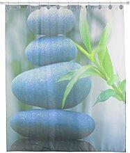 exoticbuy Zen Steine Bambus wasserdicht