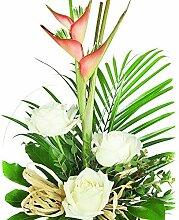 Exotische Blumen zum Geburtstag - Blumenstrauß