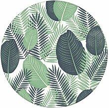 Exotische Dschungel Tapete mit großen Blättern,