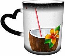 Exotischer Kokosnuss-Cocktail Personalisierte