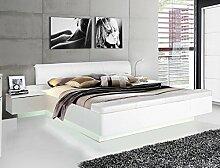 expendio Doppelbett Sophie 1 weiß Hochglanz