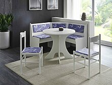 expendio Eckbankgruppe Babsi 4 weiß 2X Stuhl