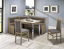 expendio Eckbankgruppe Boston Sonoma 2X Stuhl