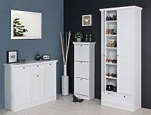 expendio Garderobenset Landström 148 weiß