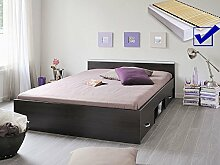 expendio Jugendbett, Bett 140x200 cm kaffeefarben