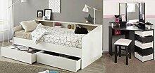expendio Jugendzimmer Selby 33 weiß schwarz