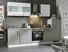 expendio Küchenblock Maika 280 cm mit E-Geräten