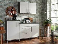 expendio Küchenblock Raven 180 cm mit E-Geräten