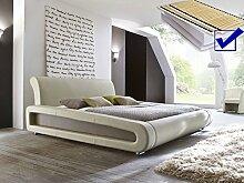 expendio Polsterbett beige komplett Bett 160x200 +