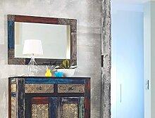 expendio Wandspiegel Punjab 90x60x3 cm Akazie