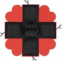 Explosion Box DIY Handgemachtes Fotoalbum,