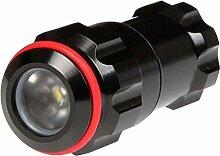 Exposure Lights expxs100IPX8spezifische zu 100m Compact Taschenlampe, Rot, 50lm