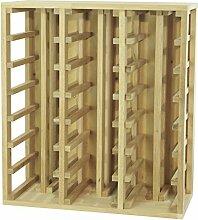 Expovinalia er2061 Weinregal, Holz, weiß, nur
