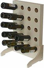 Expovinalia Weinregal für 20Flaschen, Holz,