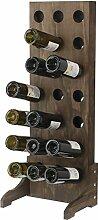 Expovinalia Weinregal für 21Flaschen, Holz,