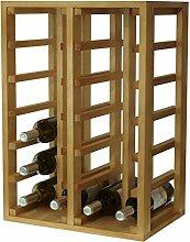 Expovinalia Weinregal für 24Flaschen, Eiche,