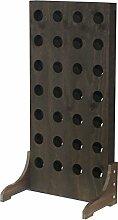 Expovinalia Weinregal für 28Flaschen, Holz,