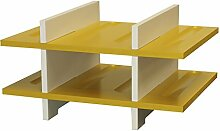Expovinalia Weinregal für 8Flaschen, MDF, gelb,
