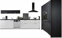 Express Küchen Küchenblock Moon 180 x 360 cm in