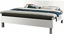 Express Möbel Bett Polarweiß, Liegefläche 120x200 cm, Art Nr. 99009-070