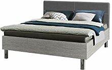 Express Möbel ONE500 Bett, Holzdekor,