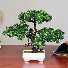 EXQUILEG Künstlicher Bonsai Kunstpflanzen