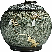 Exquisit Keramikplatten Tee-dose,Tee-vorratsdosen