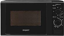 Exquisit Mikrowelle MW 802 G sw / 700 W Leistung /