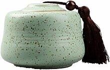 Exquisit Porzellan Tee-dose,Tee Vorratsgläser Tee