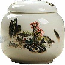 Exquisit Tee-dose,Keramikplatten Tee-vorratsdosen