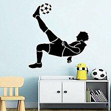 Exquisite Fußball Fußball Wandaufkleber für