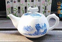 Exquisite Keramik Teekanne, Wasserkocher,