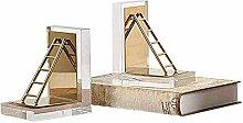 Exquisite Nordic Moderne Edelstahl Metall Leiter