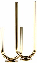 Exquisite Nordic Moderne Goldene Edelstahl Metall