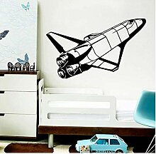 Exquisite Rocket Wandaufkleber Dekorative