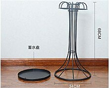 Exquisite und robuste Drain Eisen Schirmständer