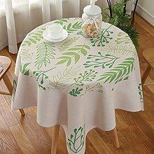Exquisites tischtuch kreativ drucken kaffee tisch tuch schreibtisch tischtuch möbel-E 140x140cm(55x55inch)