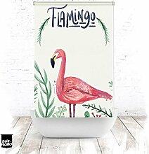 EXTARTIQE Duschrollo Flamingo Flamingo