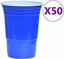 Extaum Beer-Pong Set Plastikbecher Becher Bierpong