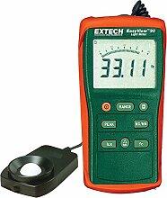 Extech Easy View Belichtungsmesser mit großem Messbereich, 40 bis 40,000 Foot Candles, 1 Stück, EA30