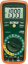 Extech ex411a RMS True Manuelle Bereichswahl Digital mustimeter mit Typ K Fernbedienung Sonde Thermometer–Grün