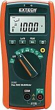 Extech Kompaktes elektrisches True RMS Multimeter mit eingebautem NCV Detektor, 1 Stück, EX360
