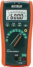 Extech Kompaktes HLK True RMS Multimeter mit eingebautem NCV Detektor, 1 Stück, EX363
