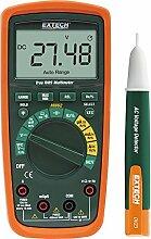 Extech MN62-K Set bestehend aus True RMS Multimeter mit Wechselspannungsdetektor