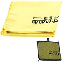 Extra saugfähiges Mikrofaser-Handtuch, 80 x 40