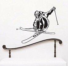 Extreme Speed   Ski Spiel Wandaufkleber Kinder