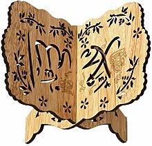 Exuberanter Buchständer Holz Buchstütze Koran