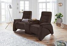 exxpo - sofa fashion 2,5-Sitzer braun