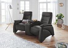 exxpo - sofa fashion 2,5-Sitzer schwarz